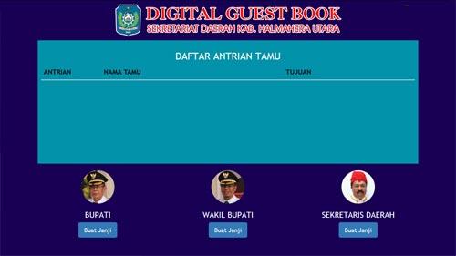 Digital GuestBook