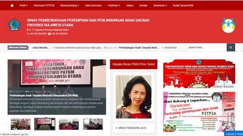 DP3AD Provinsi Sulawesi Utara