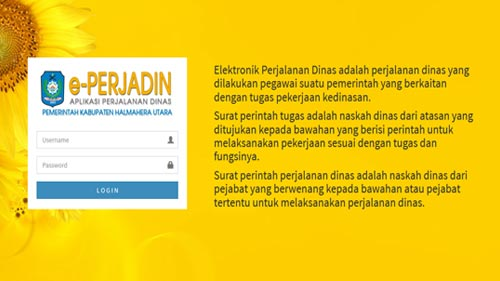 e-PERJADIN (Elektronik Perjalanan Dinas)
