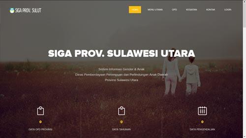 SIGA Provinsi Sulawesi Utara