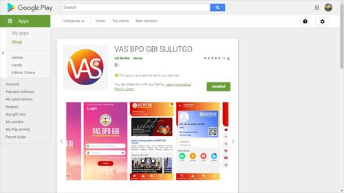 VAS BPD GBI SULUTGO (Android)